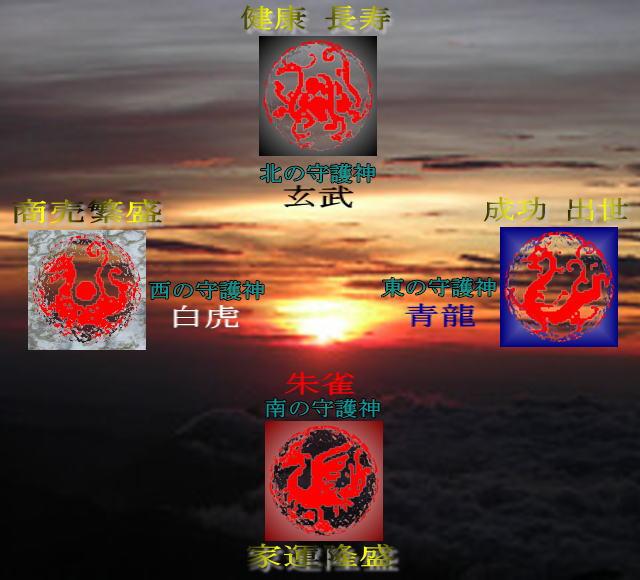 四神獣の画像